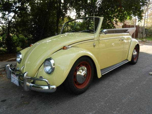 Used Custom Restoration  1967 Vw Bug Convertible By Owner