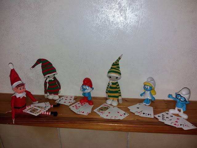 elf on the shelf  lutin farceur de noel