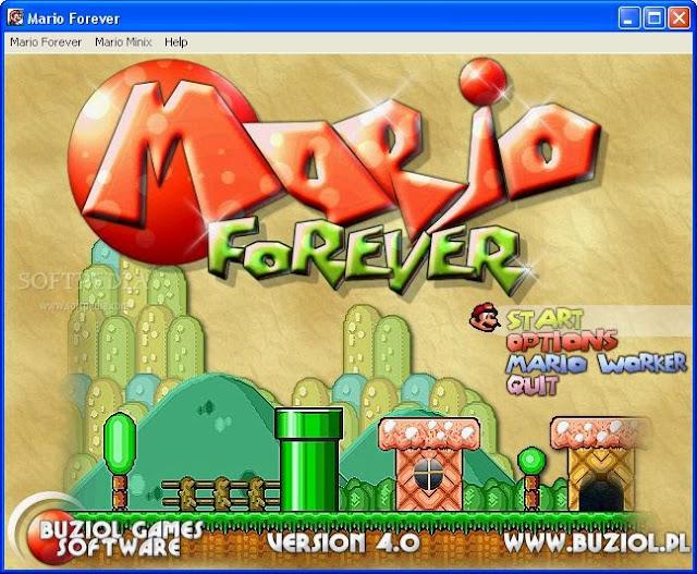 تحميل لعبة ماريو للكمبيوتر مجانا برابط مباشر Mario Forever