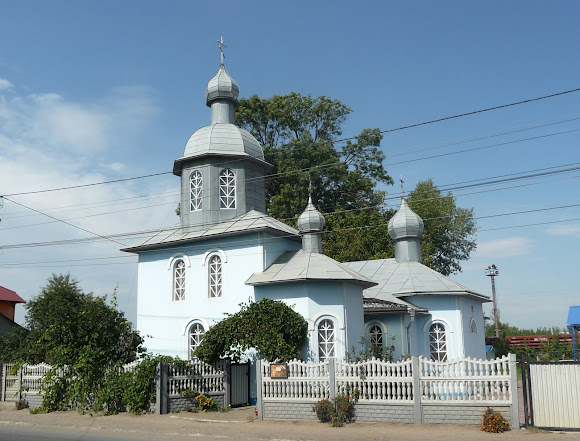 Лужани. Дерев'яна церква св. Іоана Сучавського. 18 ст.