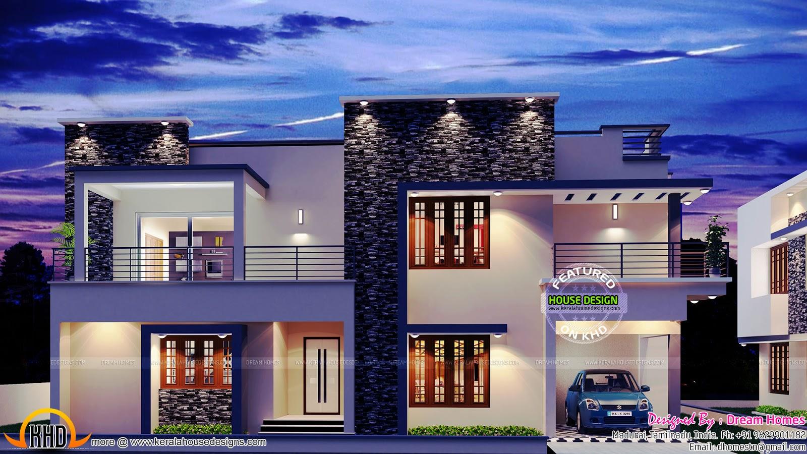 2975 sq-ft contemporary villa - Kerala home design and ...