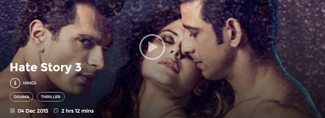 Hate Story 3 (2015) Full Hindi Movie Download free in 720p avi mp4 HD 3gp hq