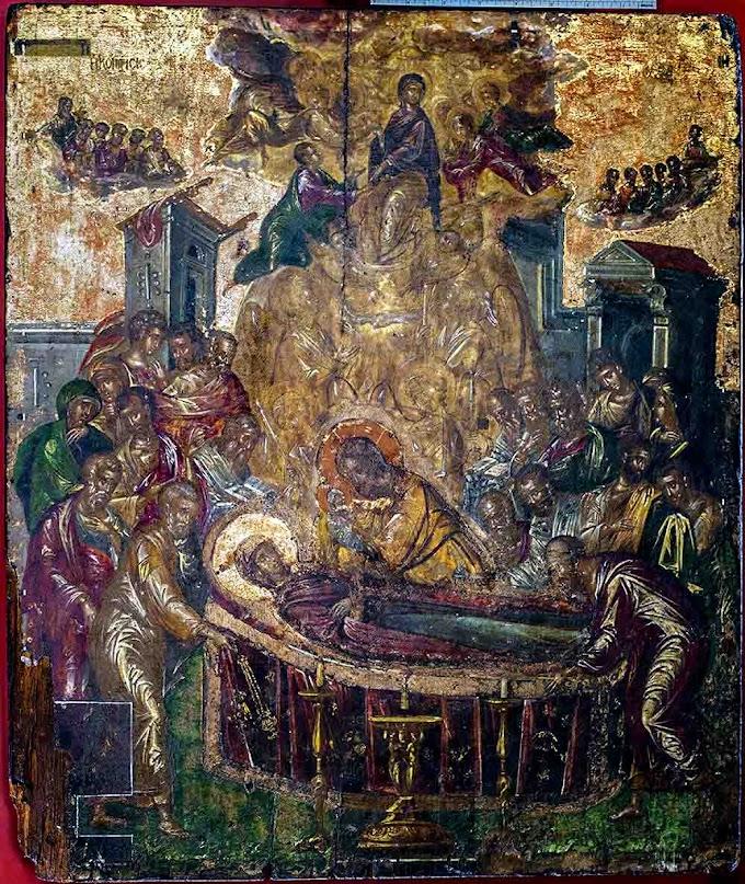 """""""Η Κοίμηση της Θεοτόκου"""" – Ο διάσημος πίνακας του Δομήνικου Θεοτοκόπουλου"""