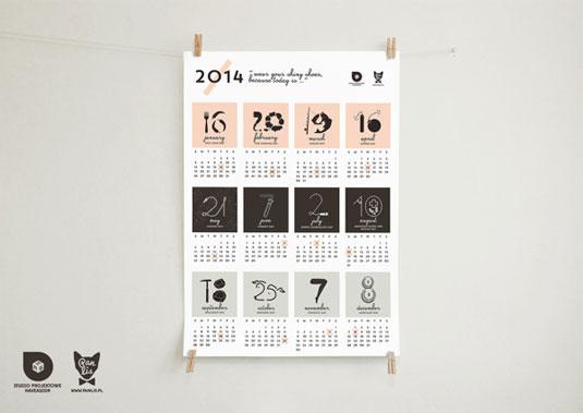 5 Desain Kalender Keren Sebagai Inspirasi Kamu