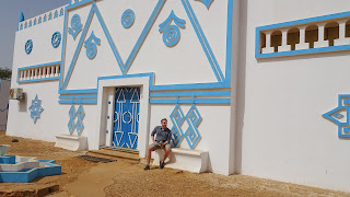 Me in front of the Boubou Hama
