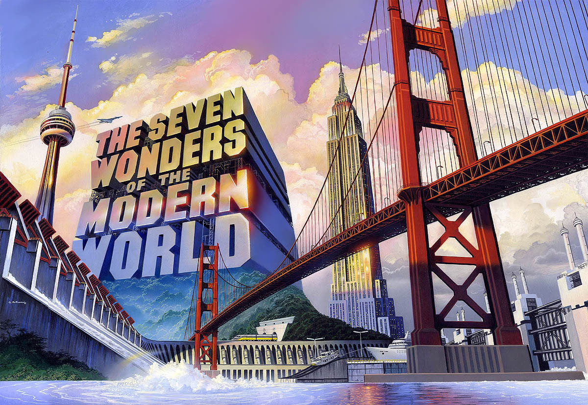 dda07f5e688 Top 7 Wonders of the Modern World - Viral Media
