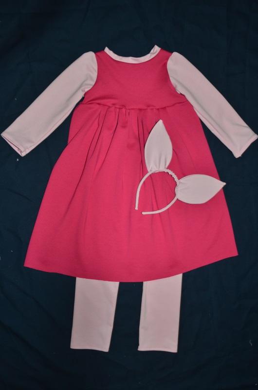 Kostium Prosiaczka dla dziewczynki.