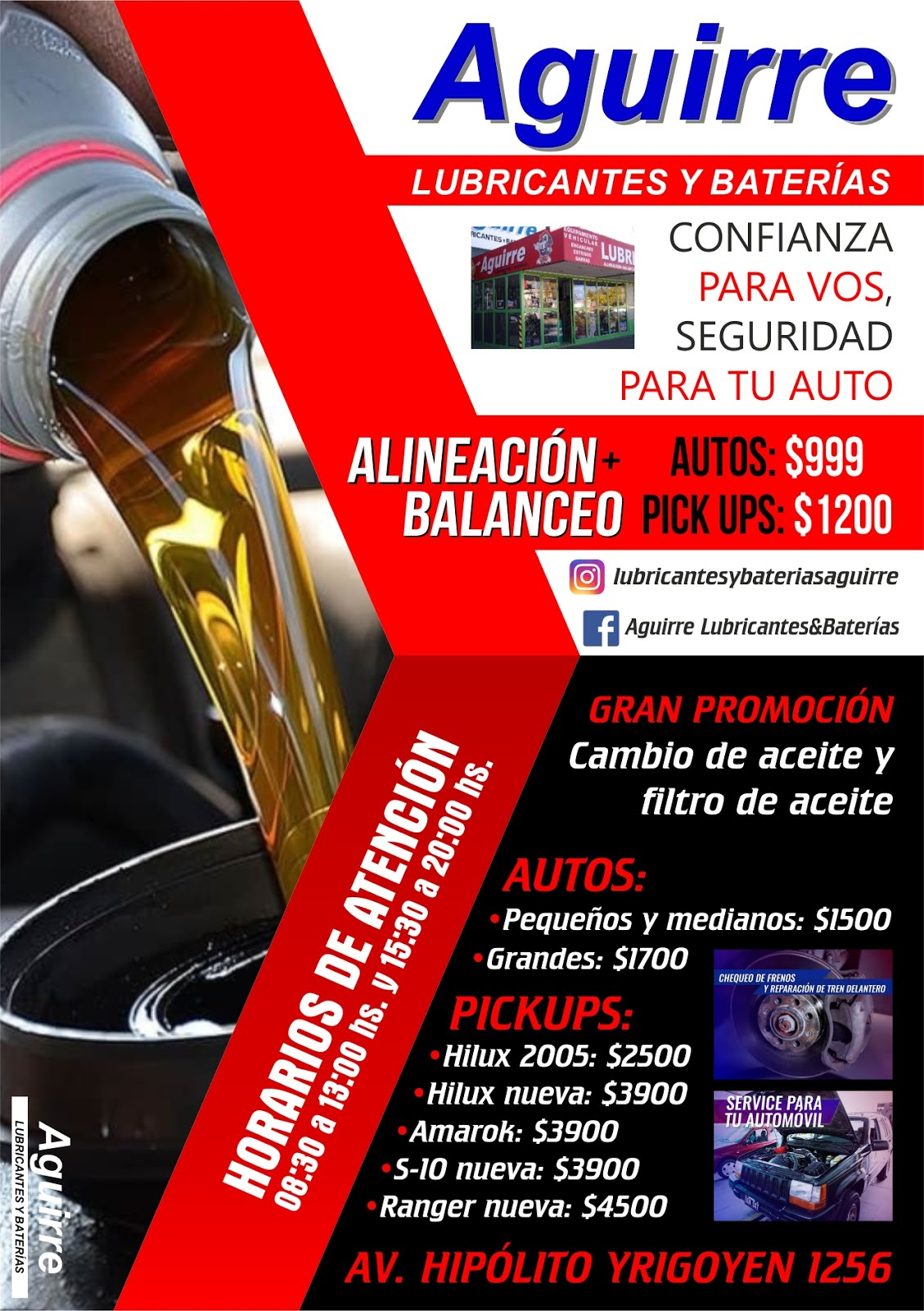 LUBRICANTES AGUIRRE