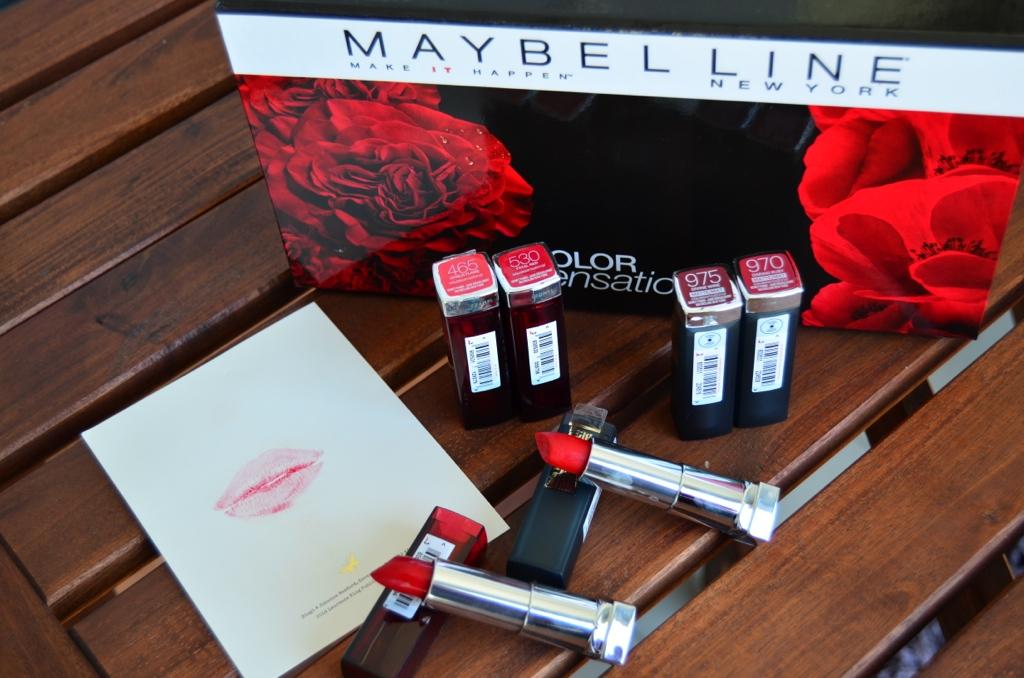 Style Glaze Maybelline Colorsensational Kırmızıları