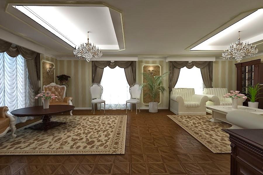 Design interior - Amenajare living casa clasica