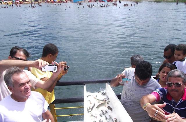 Peixamento da Codevasf integra programação da 135ª Festa de Bom Jesus de Penedo (AL)