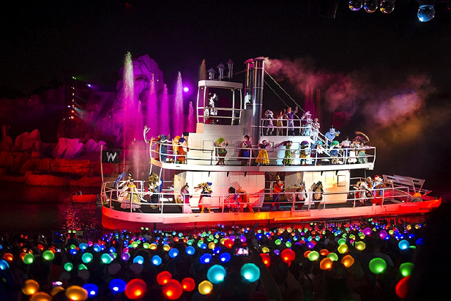 Show Fantasmic no Hollywood Studios em Orlando