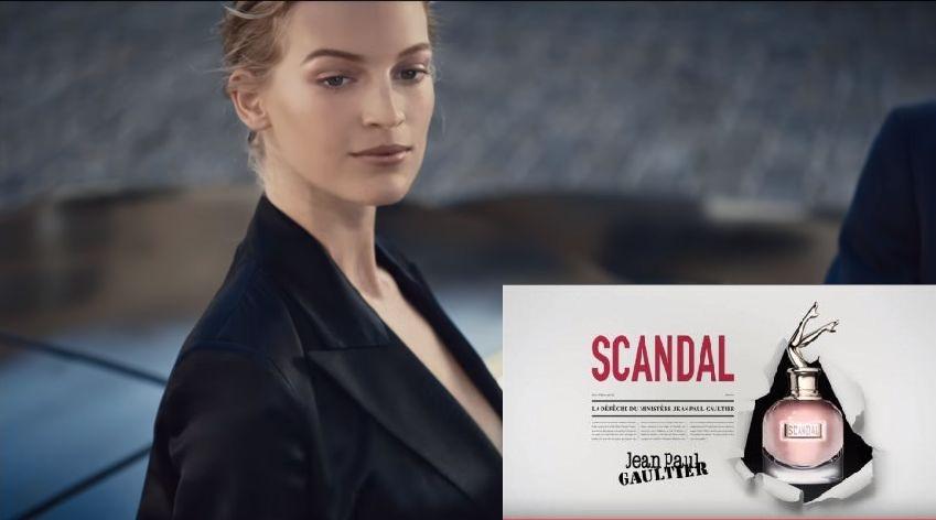 nuovo spot profumo scandal