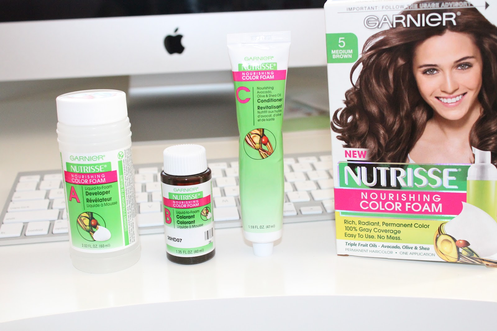 Garnier Nutrisse Color Foam Hairstyle Inspirations 2018