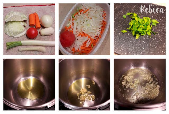 Receta de sopa de verduras en juliana 01