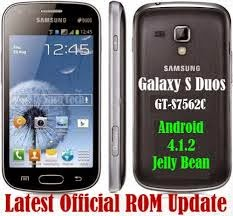 Samsung Galaxy S Duos S7562 latest Firmware Official Download