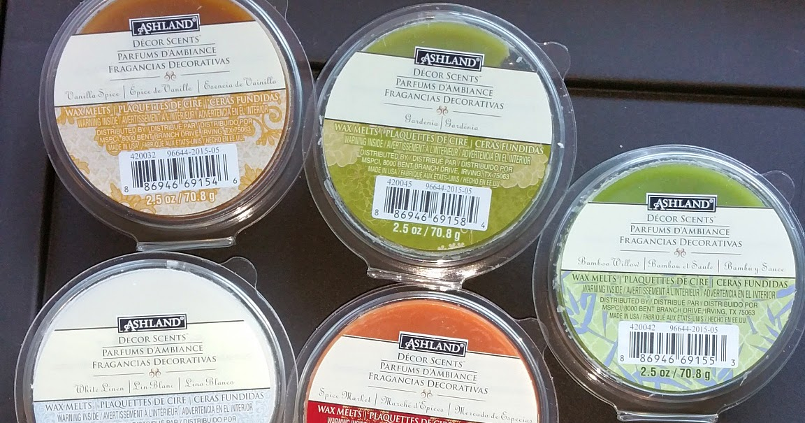 Scented Wax Melt Reviews Ashland Decor Scents Melts From Michaels Arts Crafts Review