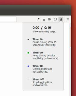 طريقة حساب الوقت اللذى نقضيه فى تصفح المواقع على الانترنت على فايرفوكس