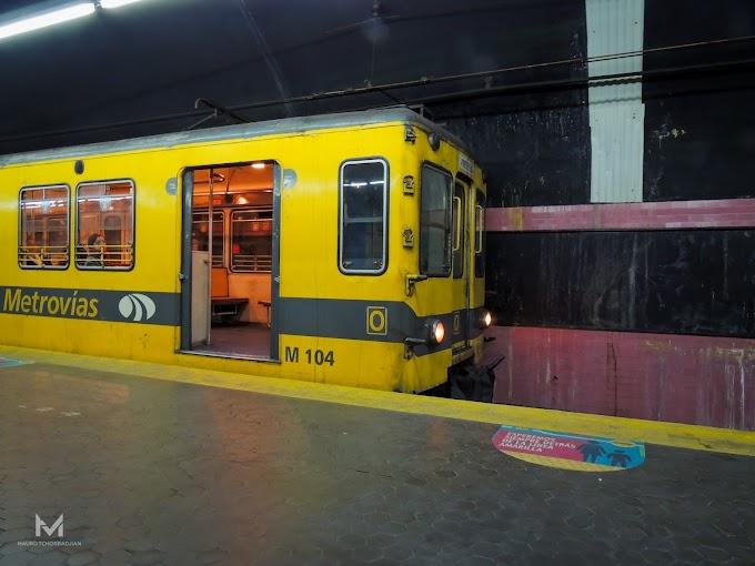 La línea E, cada vez con menos pasajeros