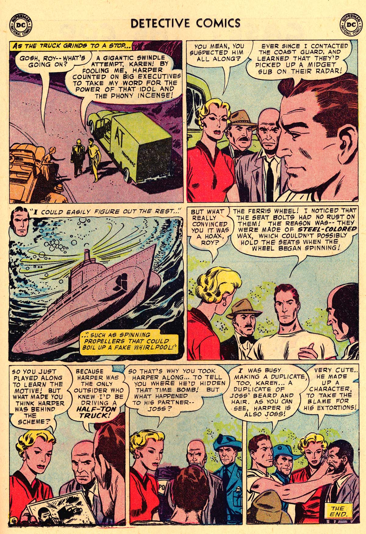 Detective Comics (1937) 259 Page 22