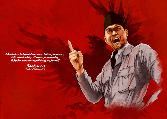 Kumpulan Kata Mutiara Bijak Soekarno