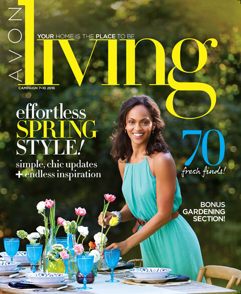 Avon Living Catalog / Magalog 3/5/16 - 4/29/16