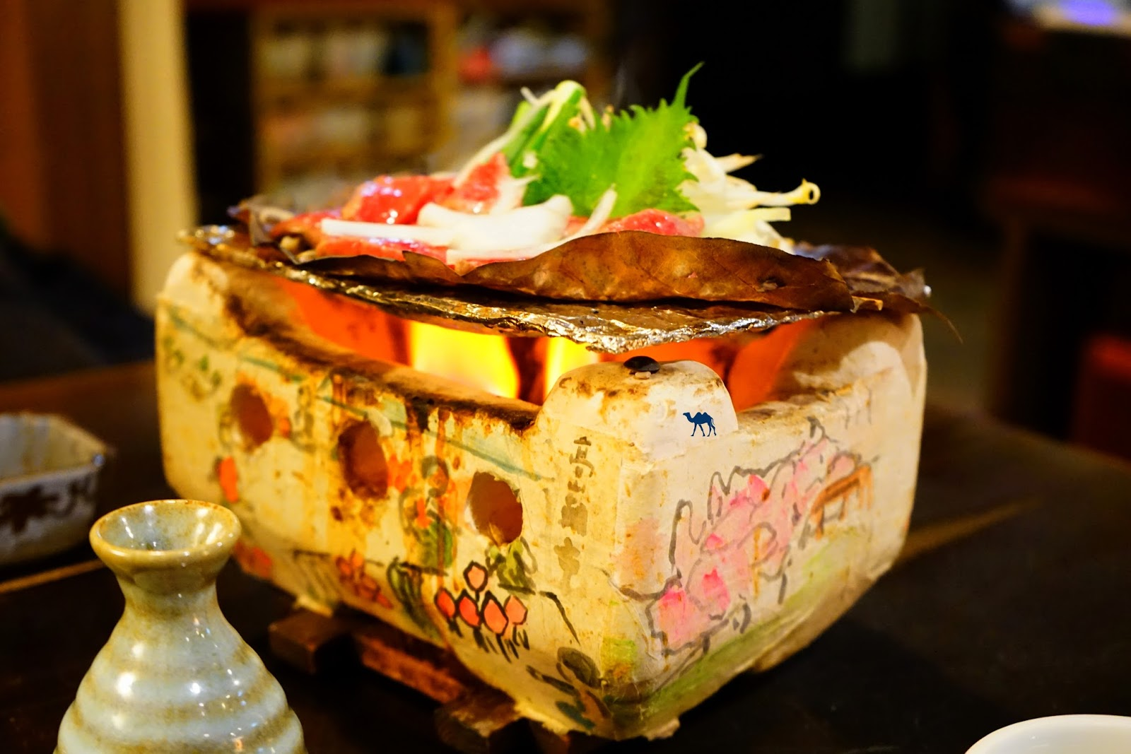 Takayama Japon adresse food Hoba Miso - Le Chameau Bleu