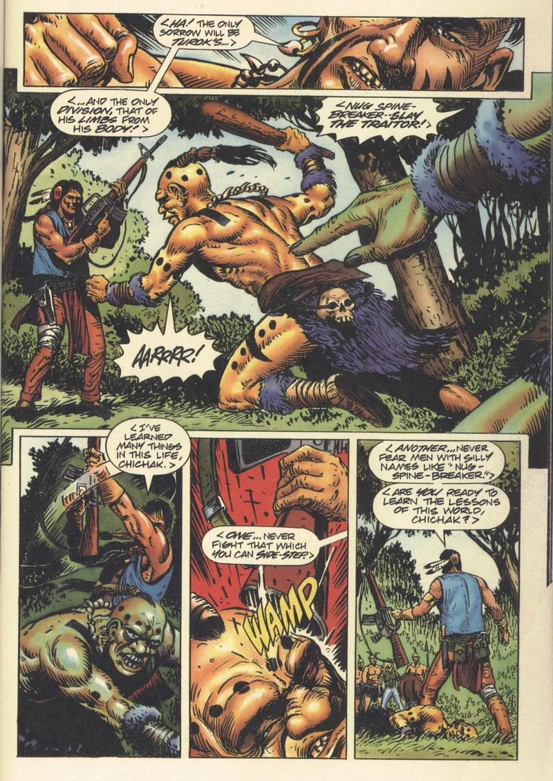Read online Turok, Dinosaur Hunter (1993) comic -  Issue #9 - 17