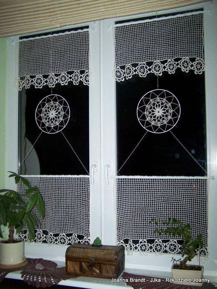 f838bbe641 A Wy ozdabiacie okna szydełkowymi pracami  Firankami  Zazdrostkami  innymi  dekoracjami  Jakimi  Pochwalcie się w komentarzach. A może po prostu tego  typu ...