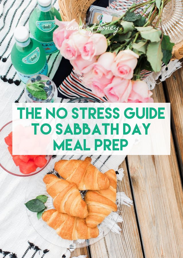 Easy Sabbath Meal Prep