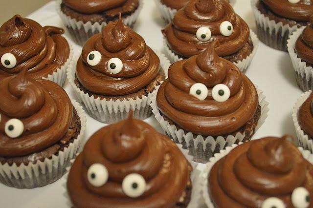 cute chocolate cupcakes