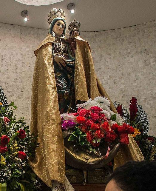 Nossa Senhora de Monserrate saiu indene do terremoto, Montecristi