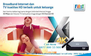FirstMedia FastNet Promo Global Offer terbaru July 2017