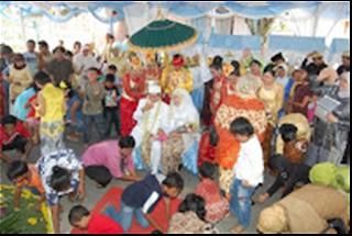 Saweran dalam Tata Cara Pernikahan Adat Sunda