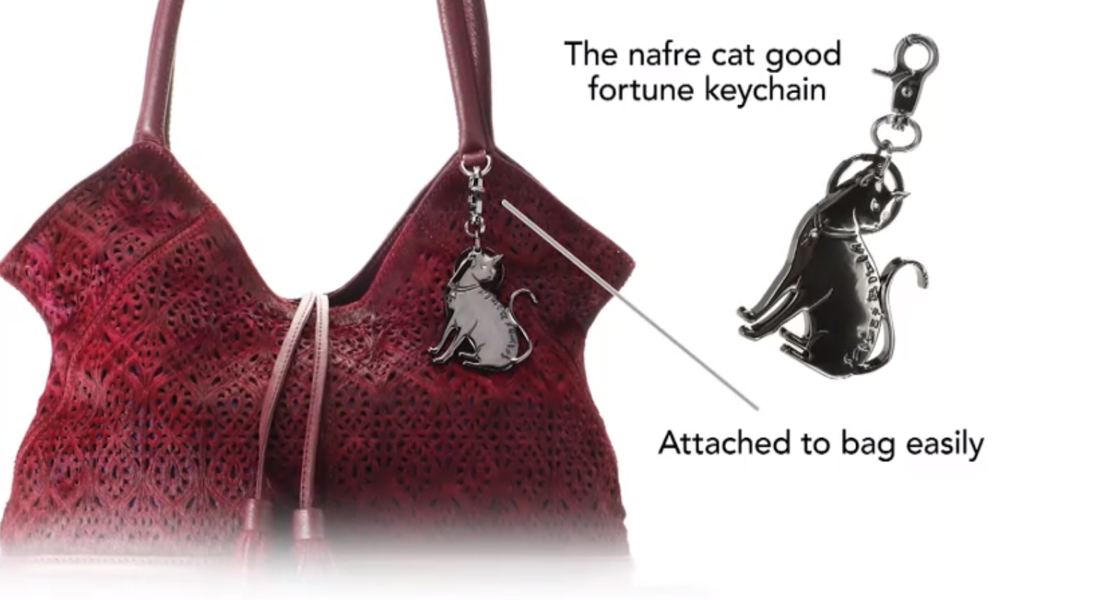 defb6609ff93 ... to participate in Sharif s HANDBAG GIVEAWAY so you can win a beautiful  exclusive handbag and keychain! The keychain is an Egyptian Nafre Good Luck  Cat.