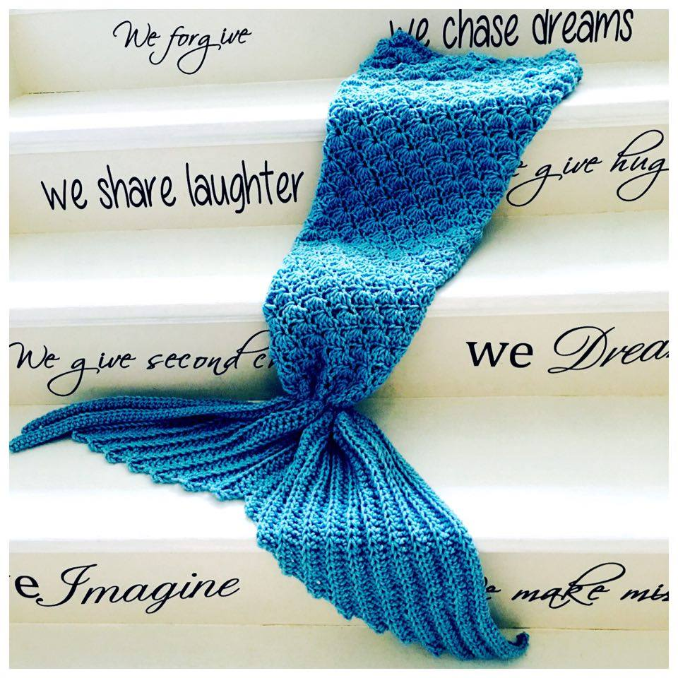 Annoos Crochet World Crochet Mermaid Tail Video Tutorial