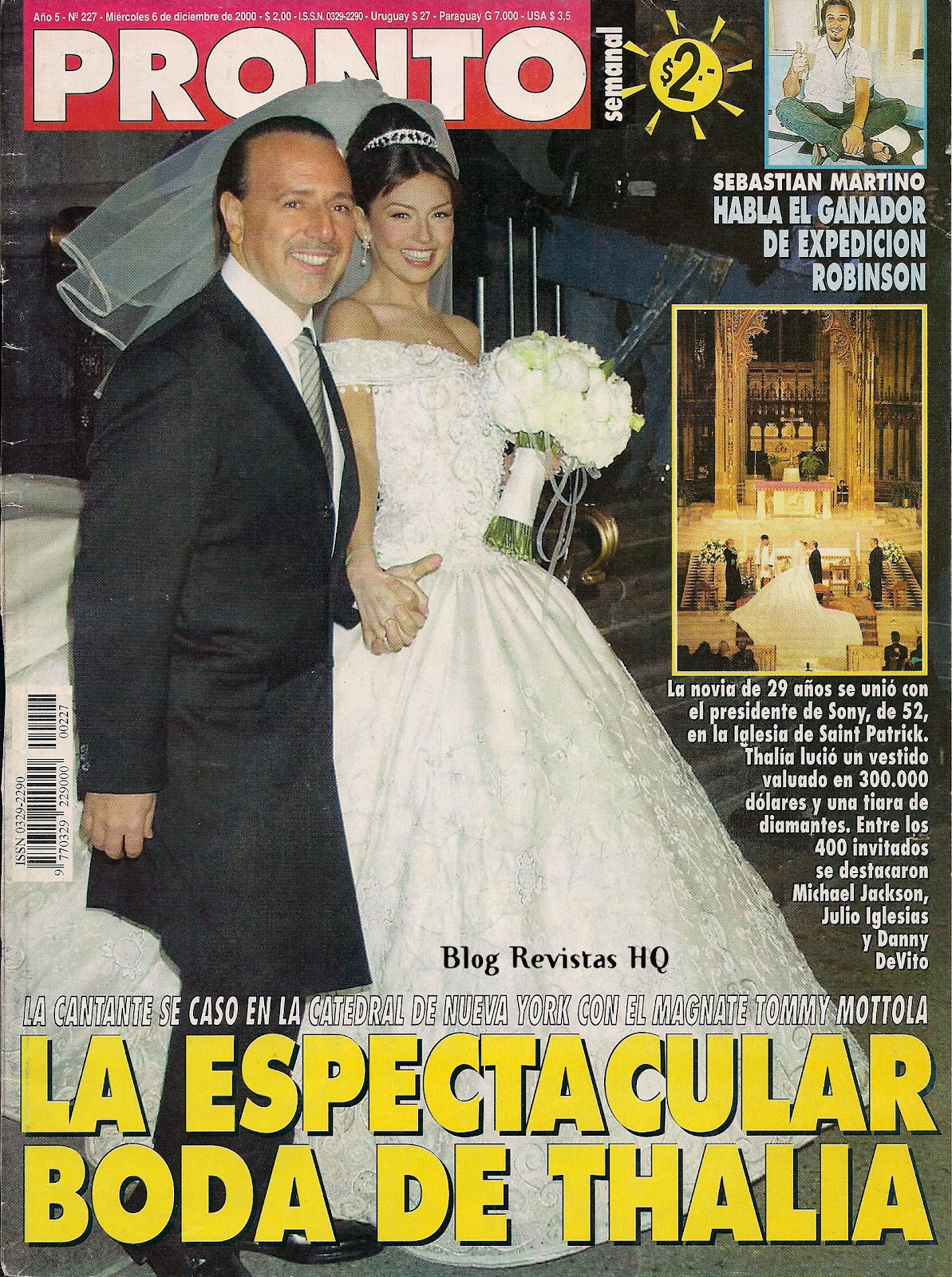 Thalia Revistas Hq Pronto 2000 Boda