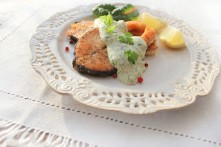 salmon with lemon caper sauce recipe