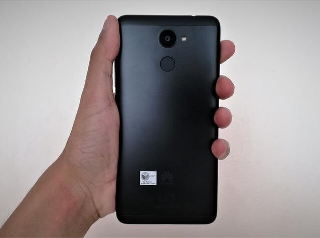 Huawei Y7 Prime - Back