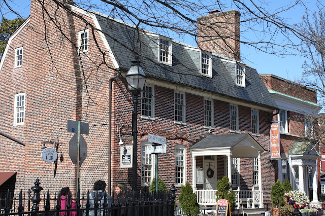 Historic Reynold's Tavern is the ideal spot for tea in Annapolis, Maryland