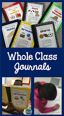 using whole class journals during wriitng