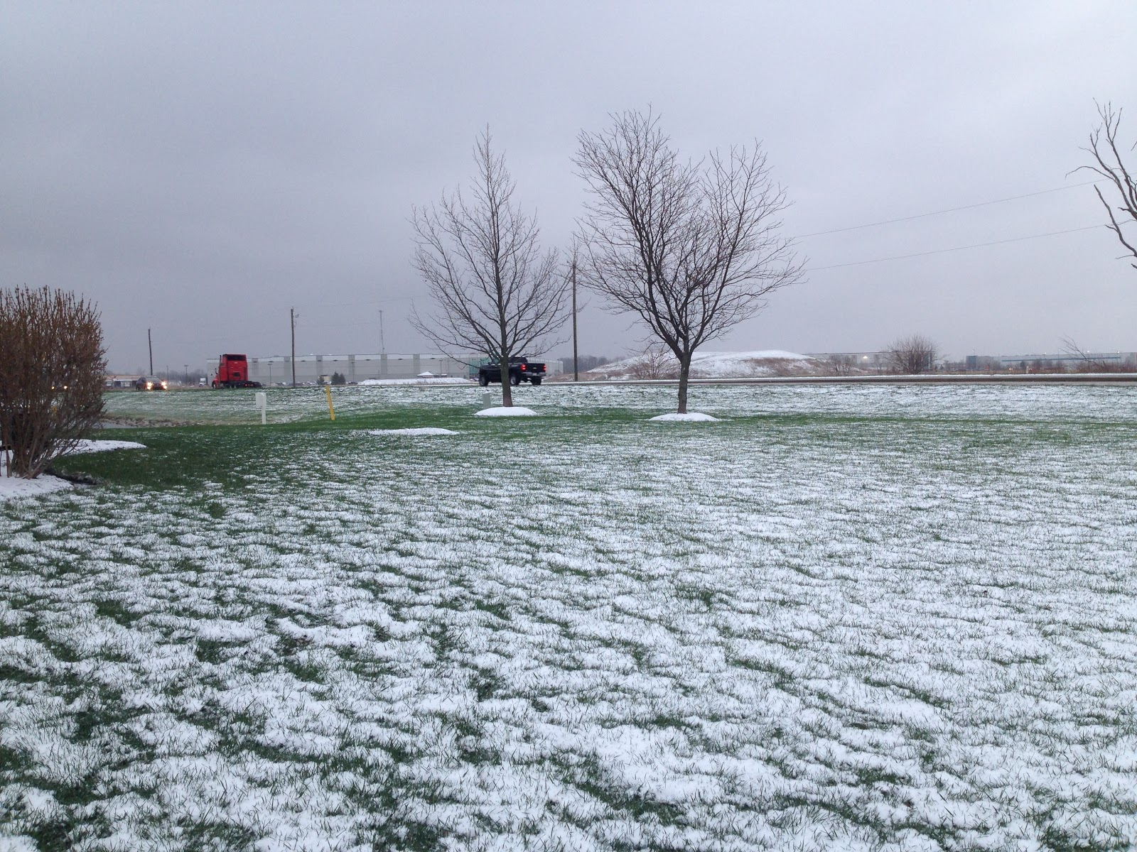 april snow in indiana