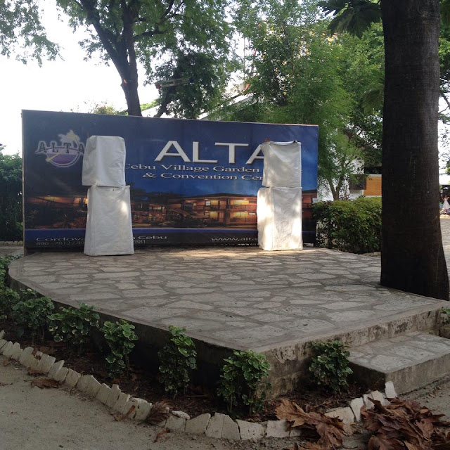 Outdoor stage at Alta Cebu Resort