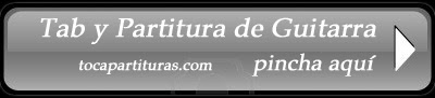 Oh whent the Saints go Marching In Partitura Tablatura de Guitarra Aprender melodía