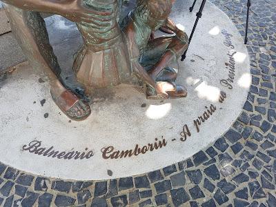 Estátua do Presidente Jango em Balneário Camboriú