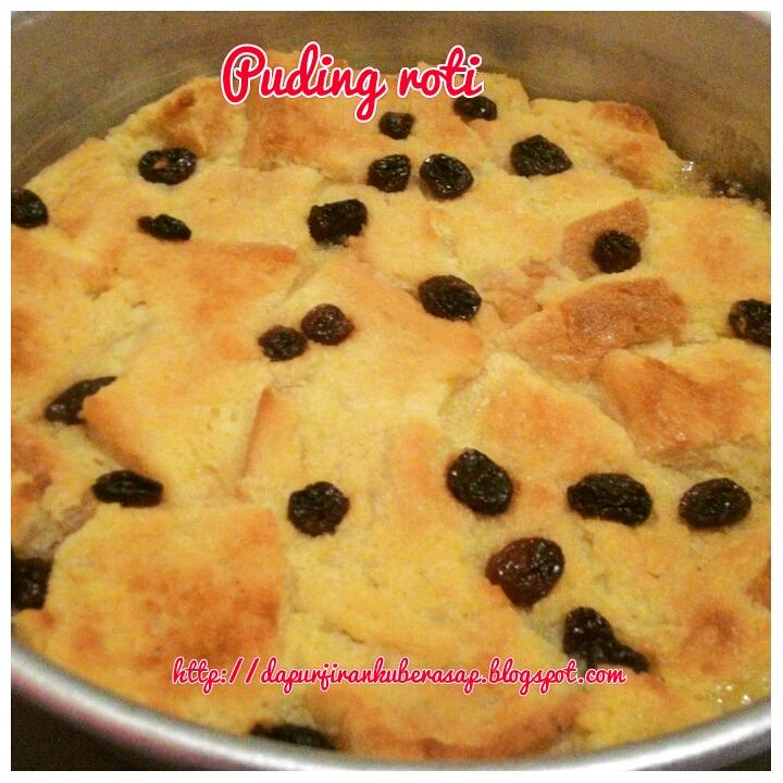 Sweet Red Cherry Resepi Puding Roti Tanpa Telur Mudah