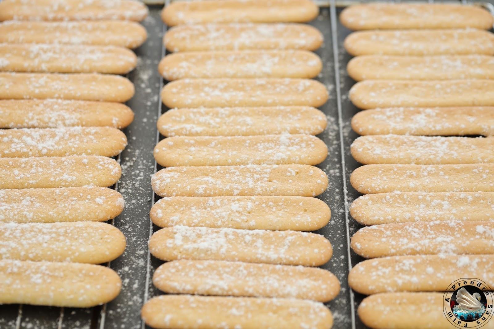 Biscuits à la cuillère, boudoirs