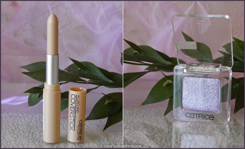 catrice coverstick concealer eyeshadow purple