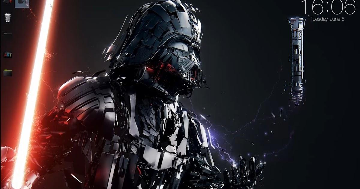 wallpaper engine free StarWars - Darth Vader free download ...