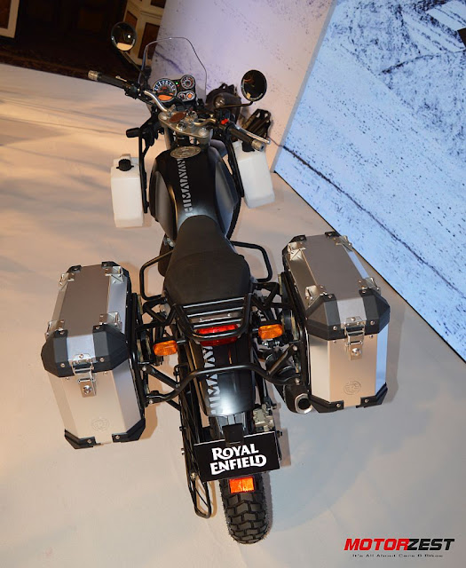 The Royal Enfield Himalayan